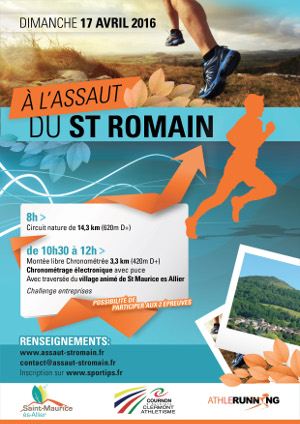 Flyer Assaut St Romain (face)